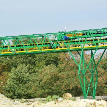 Ciąg homogenizacji grysów skaleniowo - kwarcowych - SKSM - Strzeblowskie Kopalnie Surowców Mineralnych